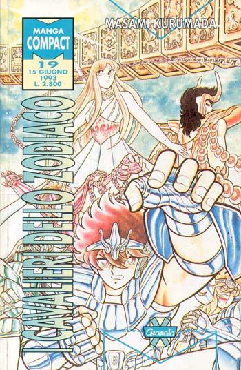 [manga] - I Cavalieri dello Zodiaco n° 19