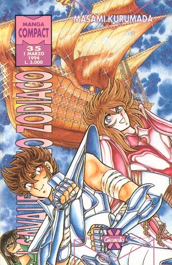 [manga] - I Cavalieri dello Zodiaco n° 35