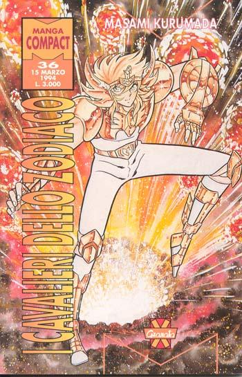 [manga] - I Cavalieri dello Zodiaco n° 36