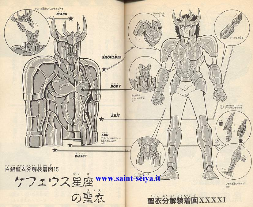 Todos los personajes de Saint Seiya